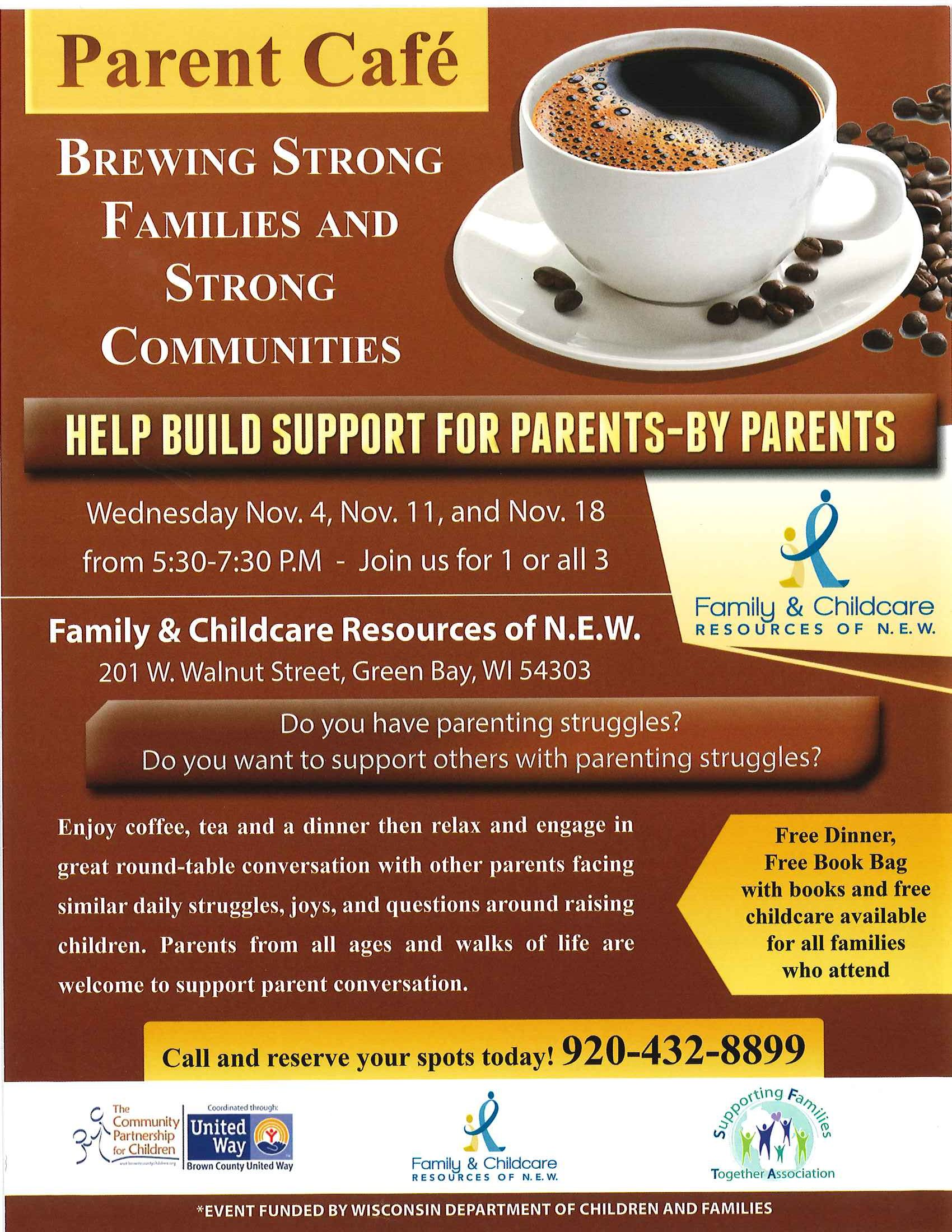 A Peek At A Few Upcoming Parent Cafes Parenting Family Child
