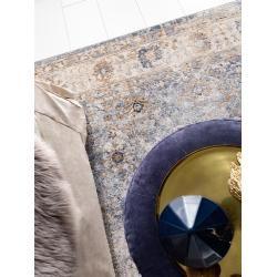 Photo of benuta Classic Teppich Yara Beige/Blau 80×150 cm – Vintage Teppich im Used-Look