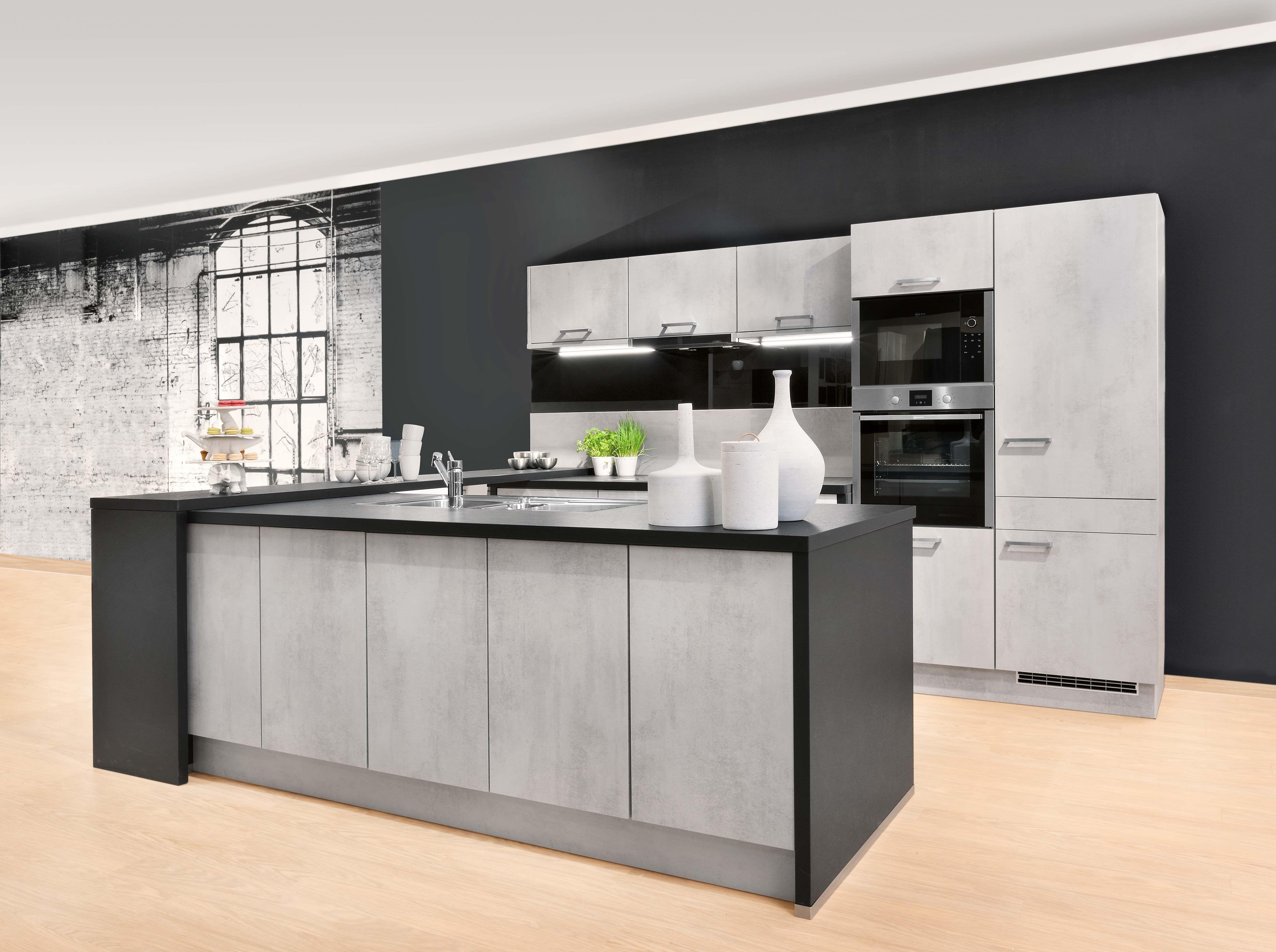 betonoptik küche modell 2093: unser bestseller | küche