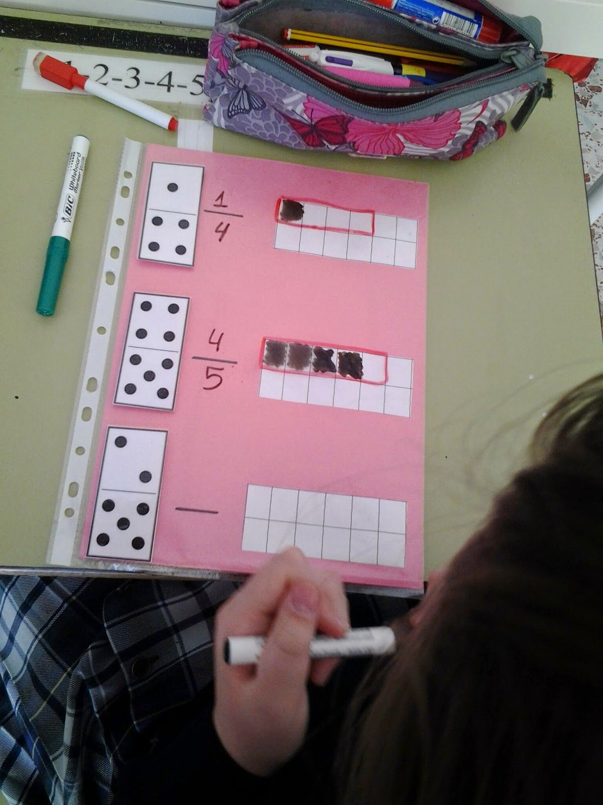Hago Y Comprendo Fracciones Domino Ideas Para La Escuela