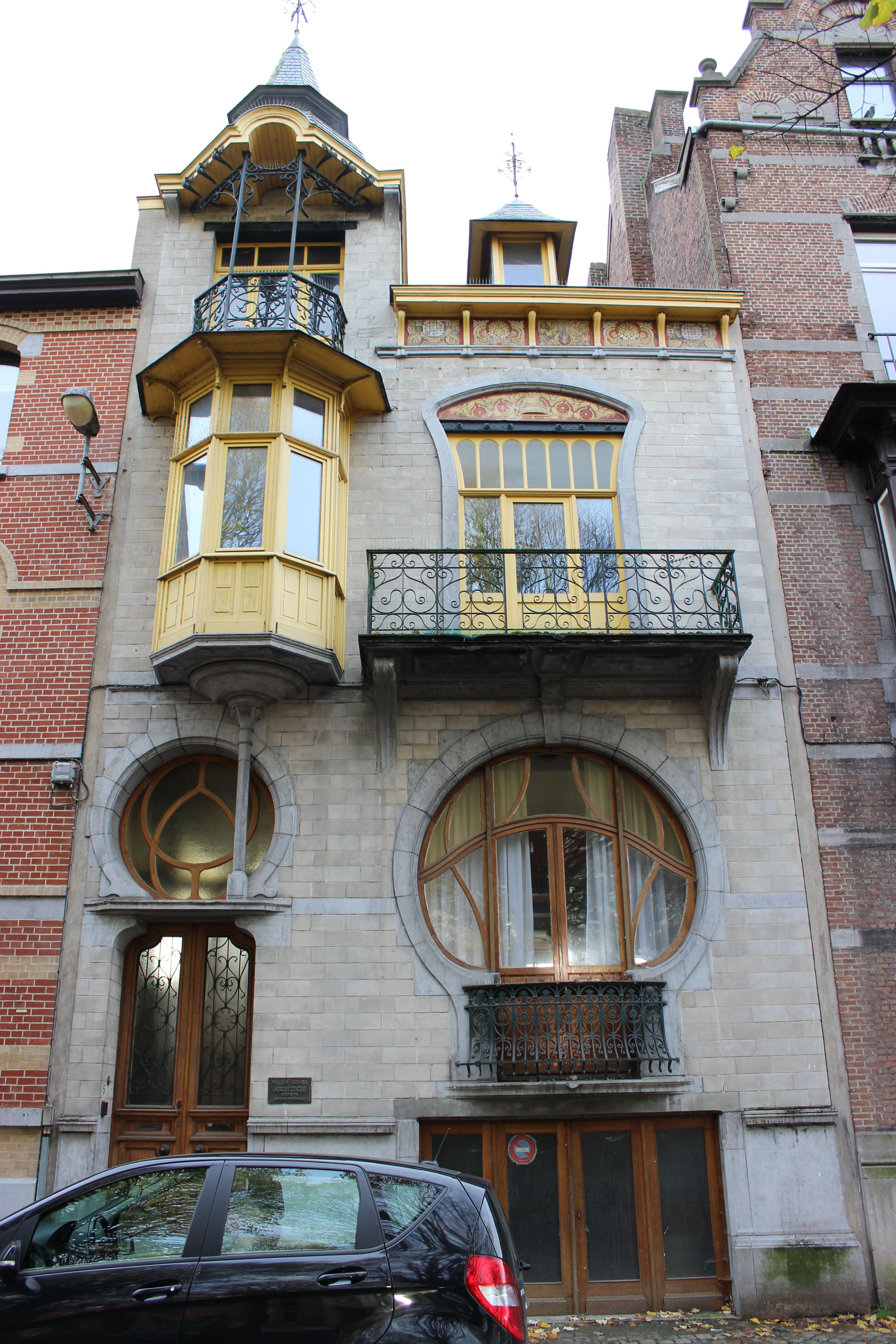 maison art nouveau a tournai art nouveau arts crafts