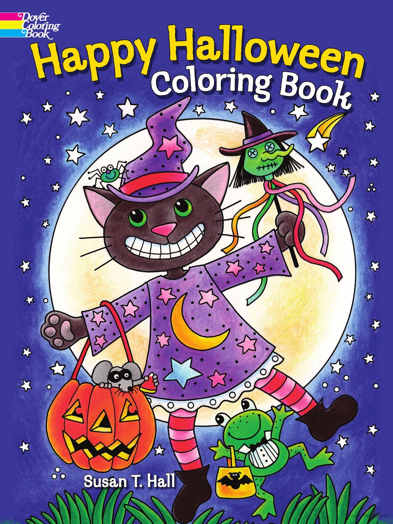Happy Halloween Halloween coloring book, Halloween