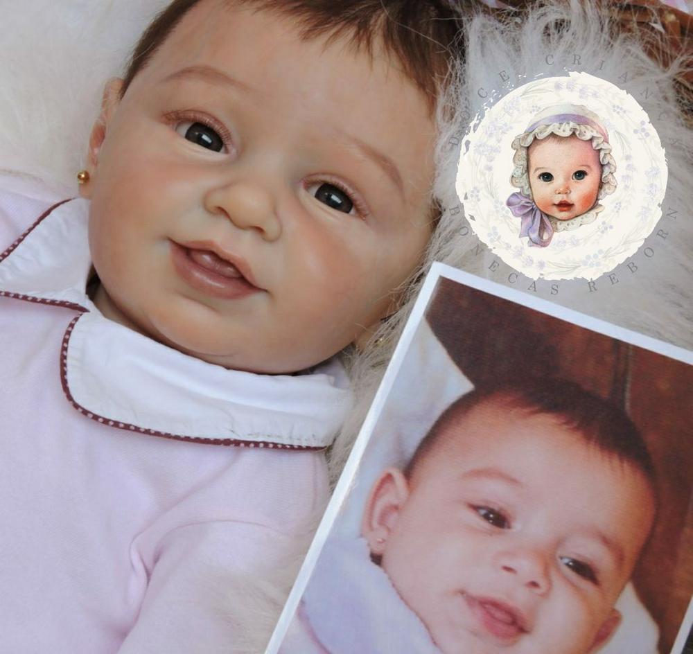 Bebê Reborn Por Foto Reborn por Aproximação de Foto da
