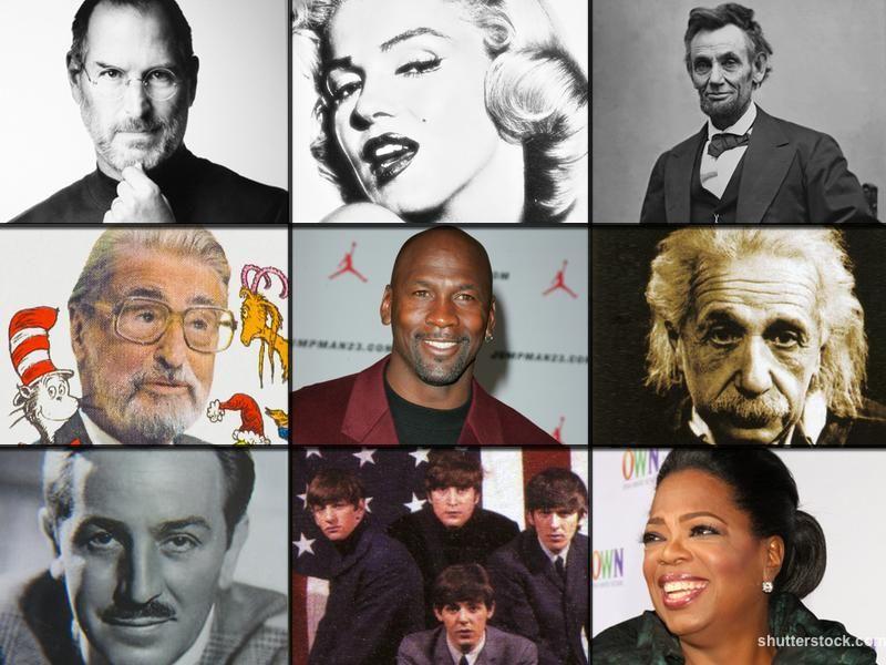 9 Famous People Who Overcame Major Failure Famous People Famous Quotes About Life Famous Failures
