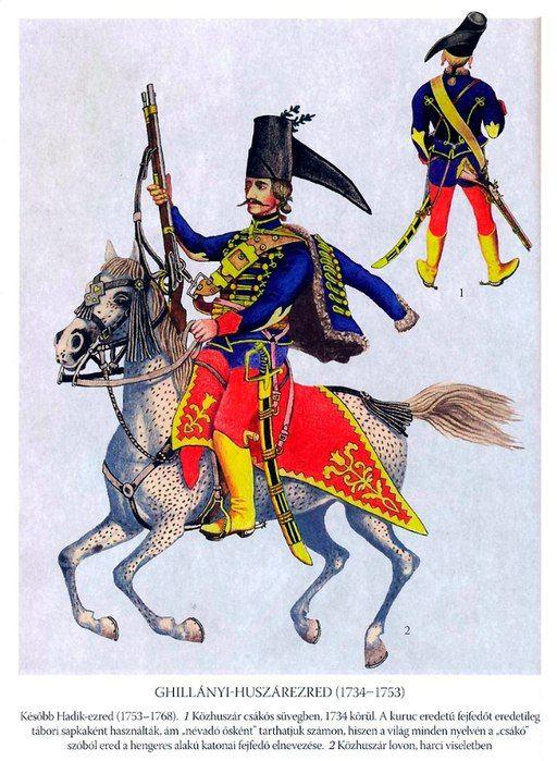 Ghillanyi Hussars Wall | VK | Eighteenth Century Wars 1714-1763