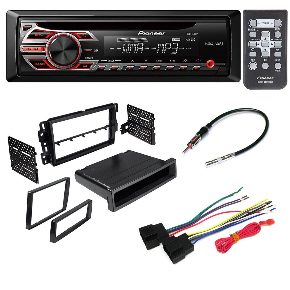 Car Stereo Radio Cd Player Receiver Install Mount Kit Harness Gm Wiring Adapter Antenna For Buick