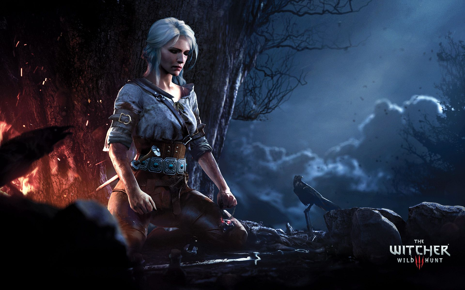Pin On Medieval Fantasy Characters Female Ciri witcher 3 hd games artwork