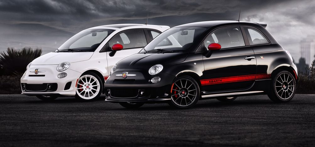 Fiat 500 Abarth. I want the black one, which is weird for