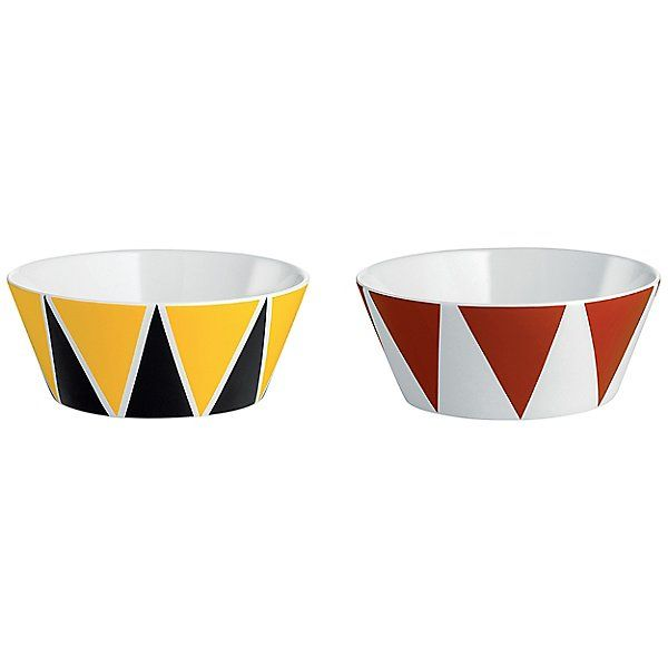 Alessi Stripes Circus Set Of 2 Small Bowls By Marcel Wanders Alessi Bowl Set Decorative Bowls