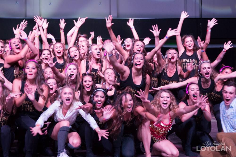Every fall LMU Greek Life competes in a Lipsync and Stroll