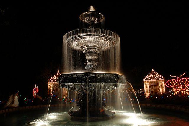 bellingrath gardens magic christmas lights mobile al