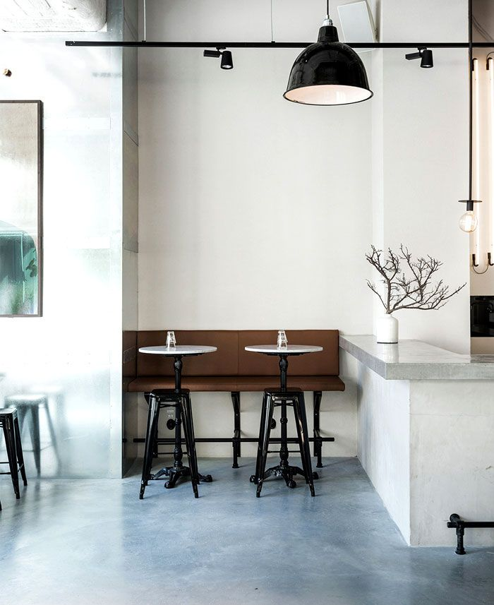 Scandinavian Inspired Minimalist Restaurant Decor Restaurant Interior Elegant Restaurants Restaurant Design