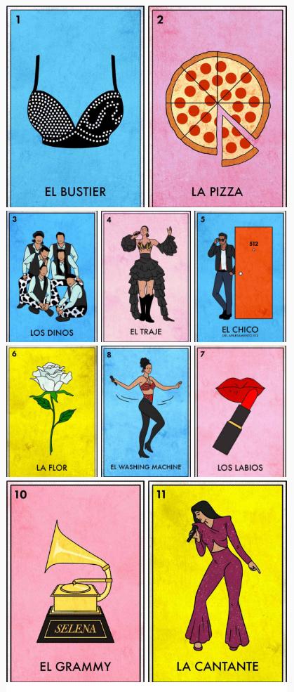 Because Loteria + Selena is amazing! juanofwords Selena