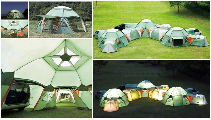 The Decagon Link Station By The Japanese Outdoor Company Logos Is