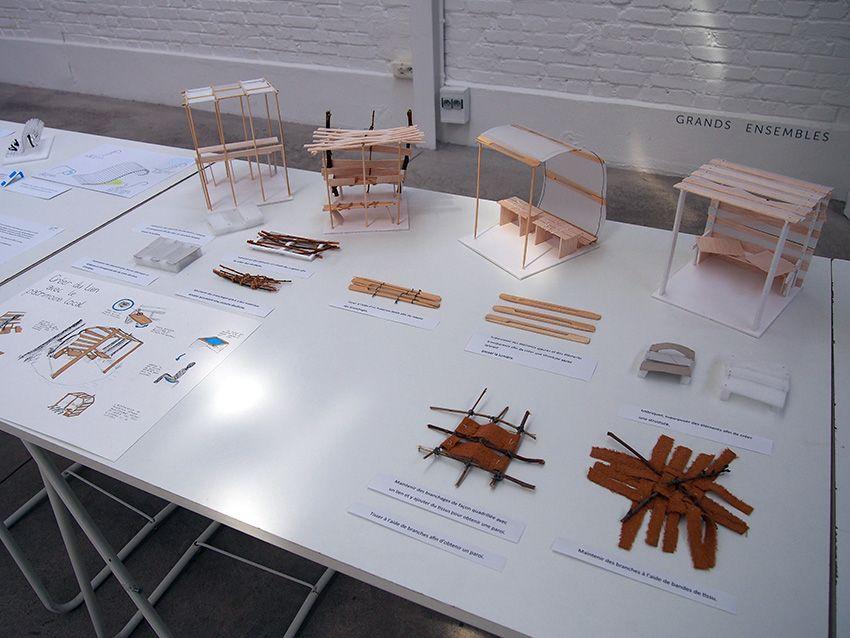 Exposition Creer Du Lien Avec Le Patrimoine Local A La Maison De L Architecture D Amiens Mai 2016 Terminales Std2a Maison Architecture Amiens
