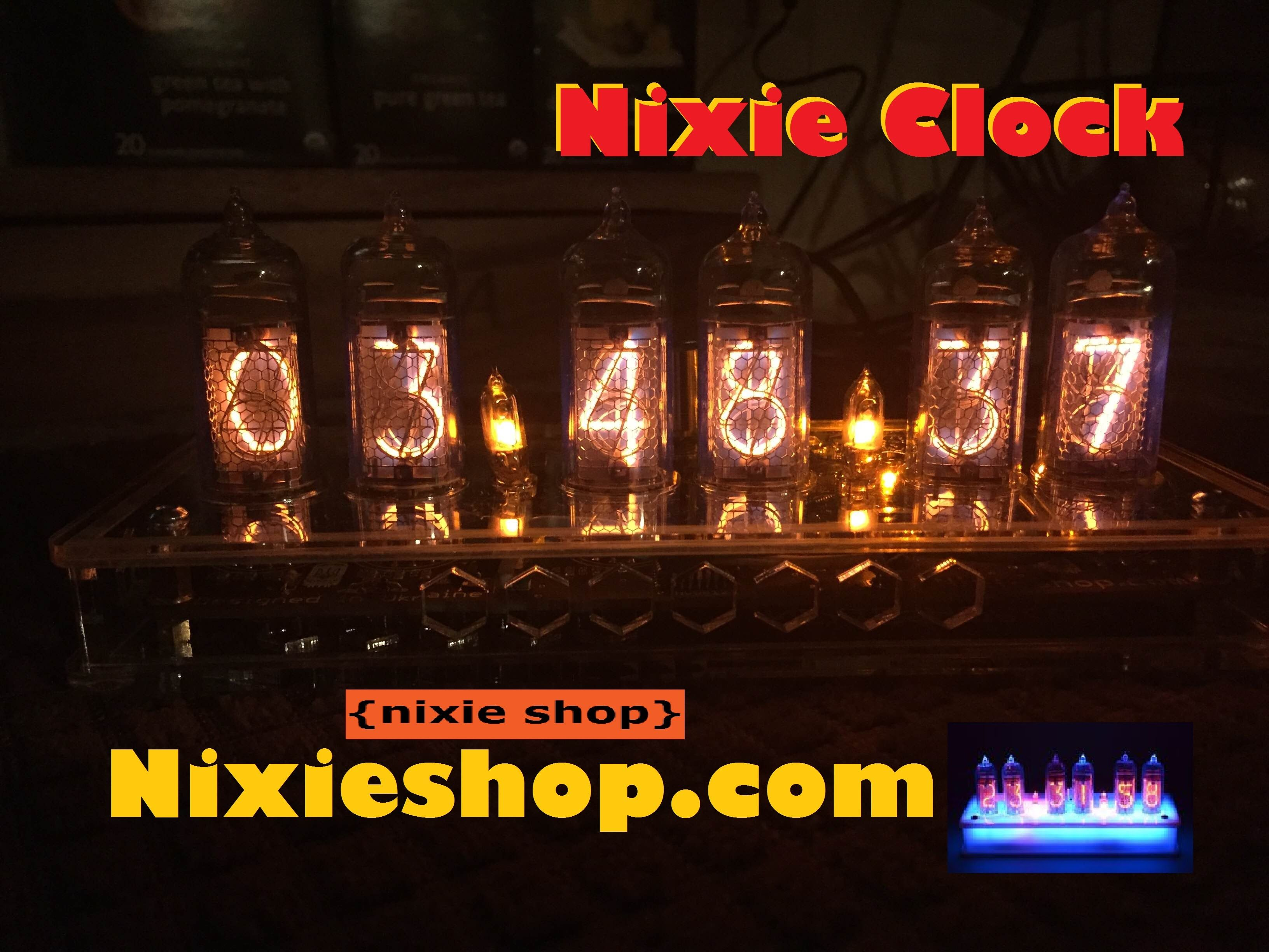 Nixie Clock from NixieShop Com Review - YouTube   Nixie