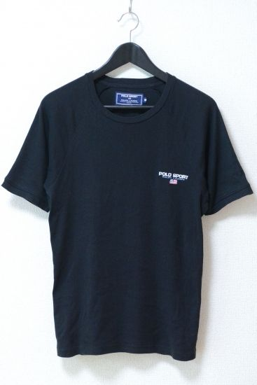 USED&VINTAGE POLO SPORT ラグランスリーブロゴTシャツ¥4,000(TAX IN)