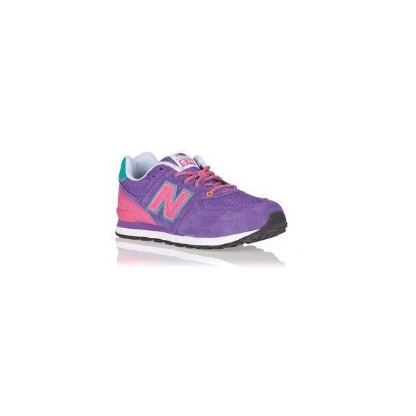 Zapatillas New balance rosas y moradas
