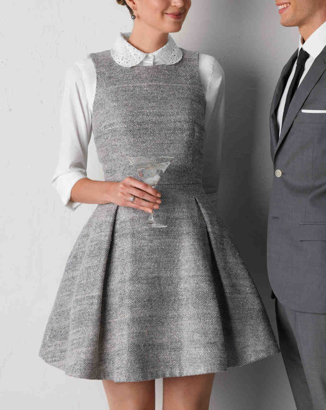 2b8612b0f8 Powder White and Shades of Gray Are an Elegant Pairing for Your ...