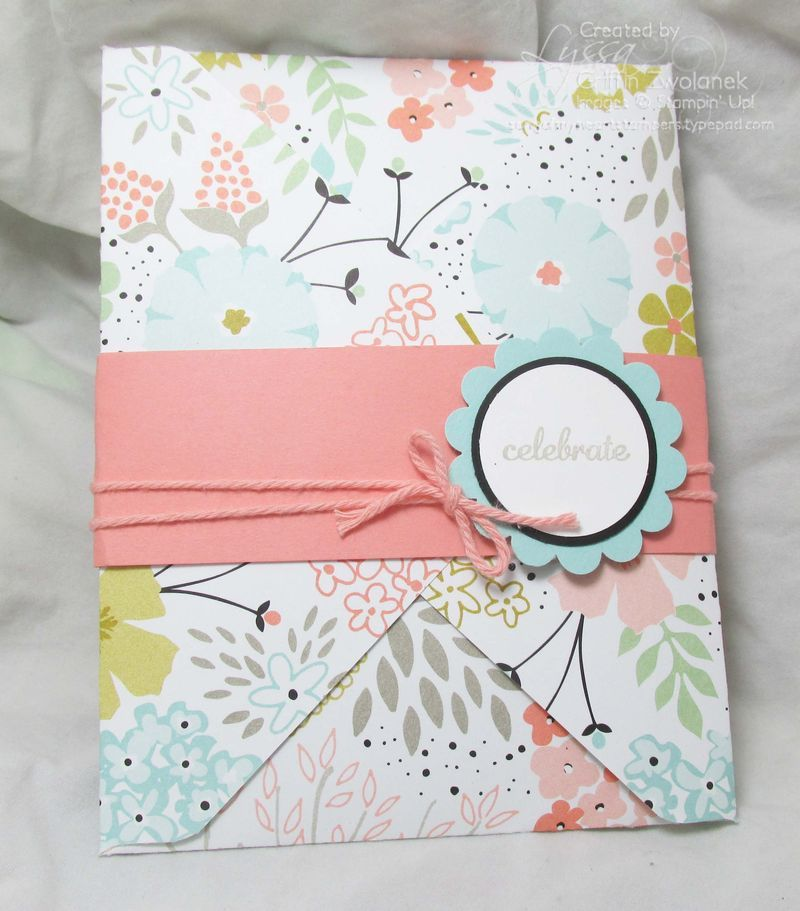Envelope Made With Envelope Punch Board And Belly Band