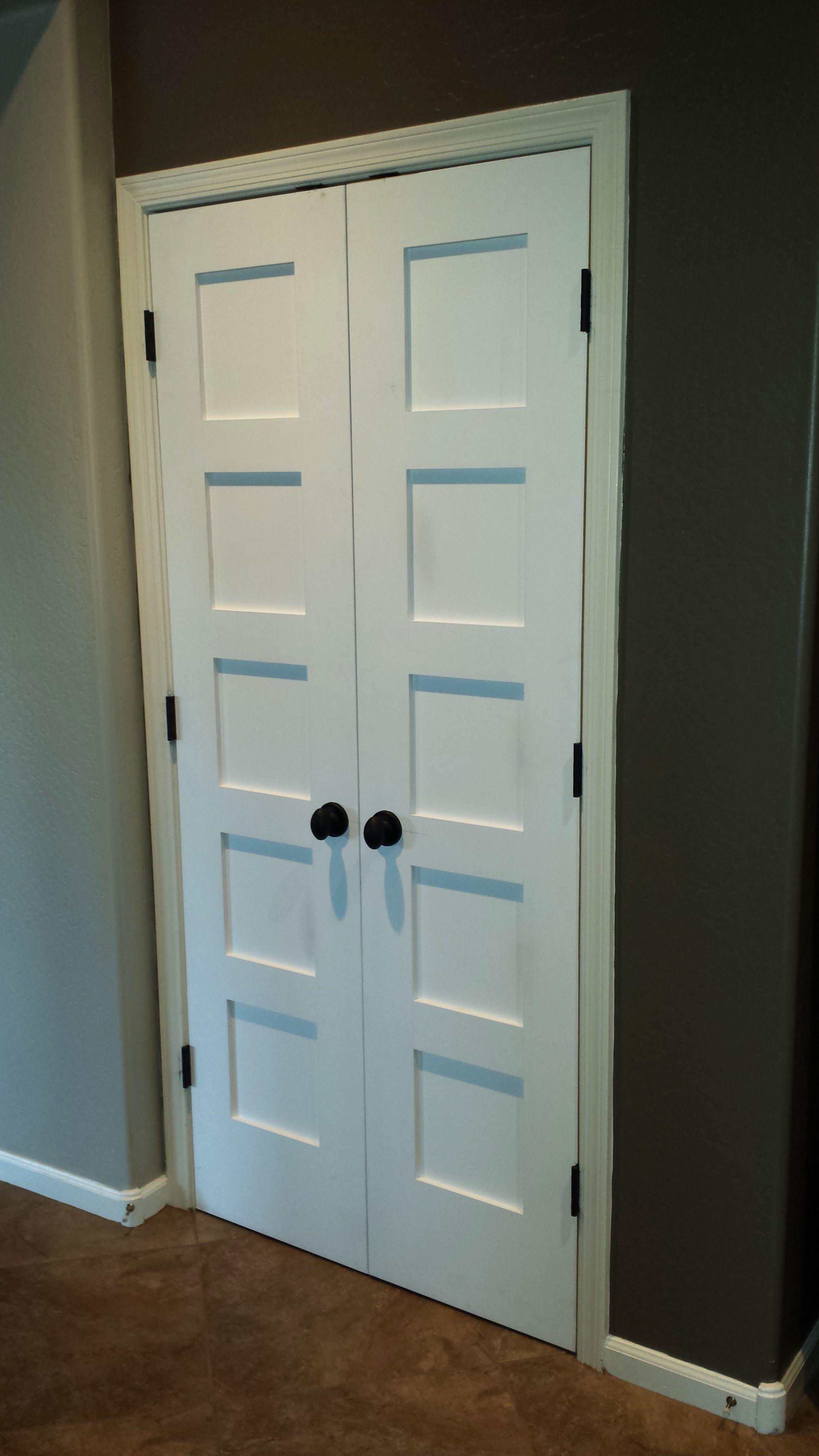 Interior Closet French Doors French closet doors, Double