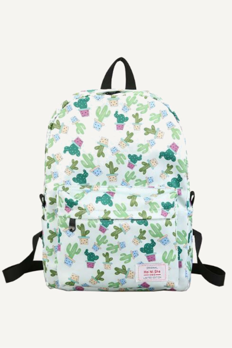 "No Boundaries Cactus Backpack Urban Fashion Full Size 16/"" NEW!!"
