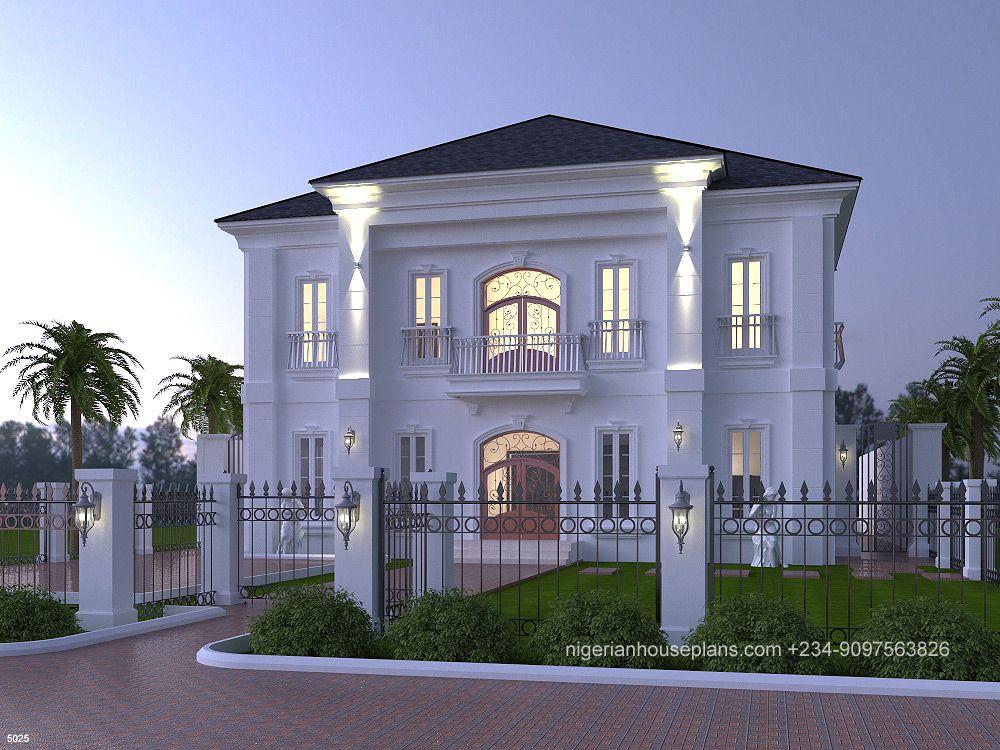 5 bedroom duplex (Ref. 5025 Bungalow house design