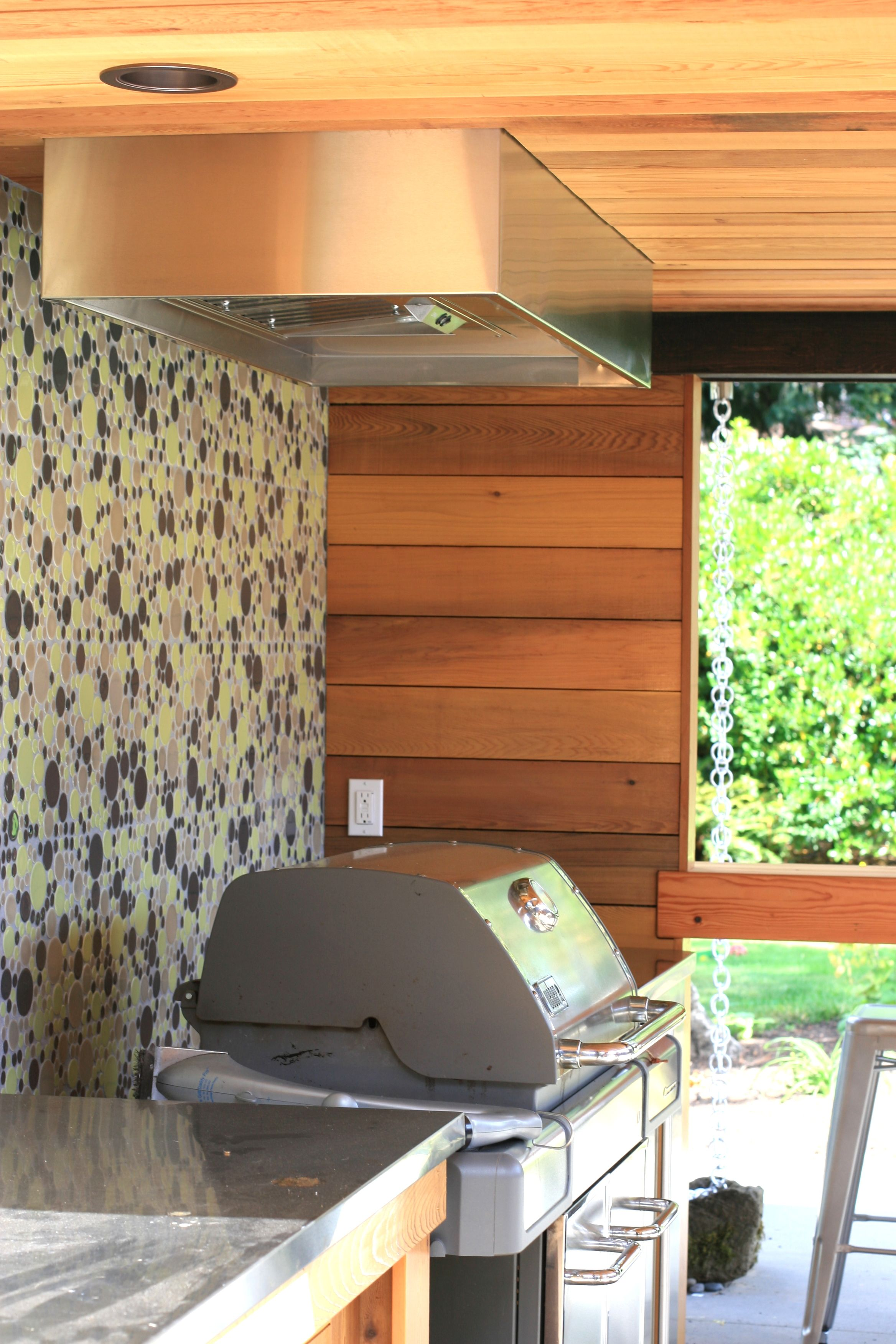 outdoor kitchen hood horizontal cabinets weber genesis grill in a wall unit google search ideas
