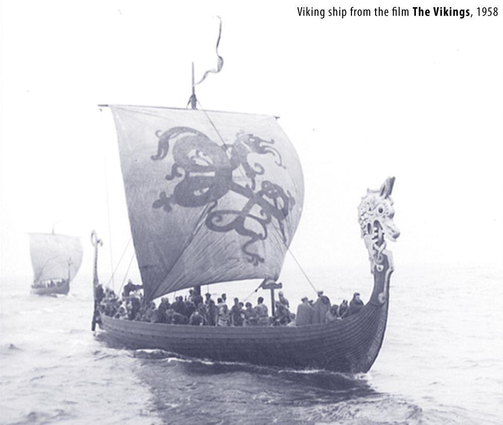 Viking Boat 1958 Viking Ship Vikings Norse