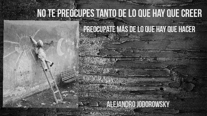 Foto de Alejandro Jodorowsky.