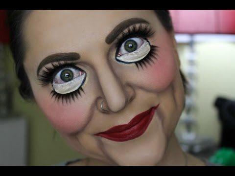 Ventriloquist Dummy Halloween Look Rayleen Webber Doll Makeup Halloween Halloween Makeup Easy Halloween Makeup Scary