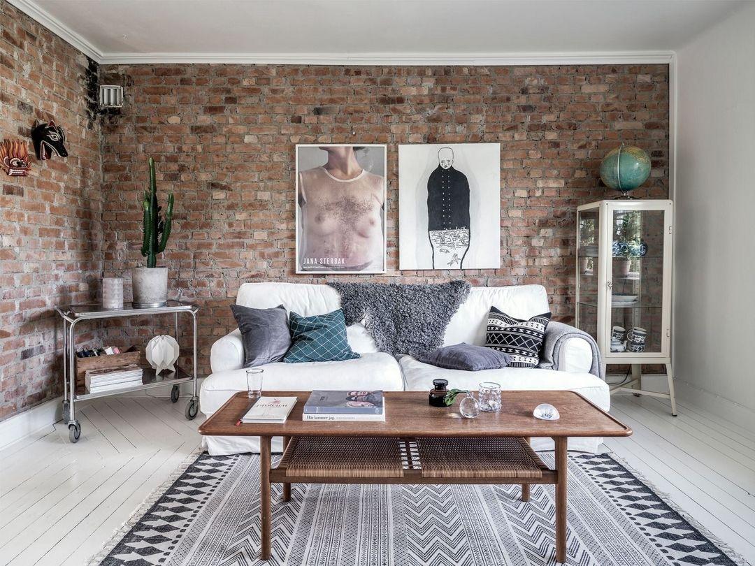 lambris peints et murs de briques d couvrir l 39 endroit du d cor lambris peint lambris et. Black Bedroom Furniture Sets. Home Design Ideas