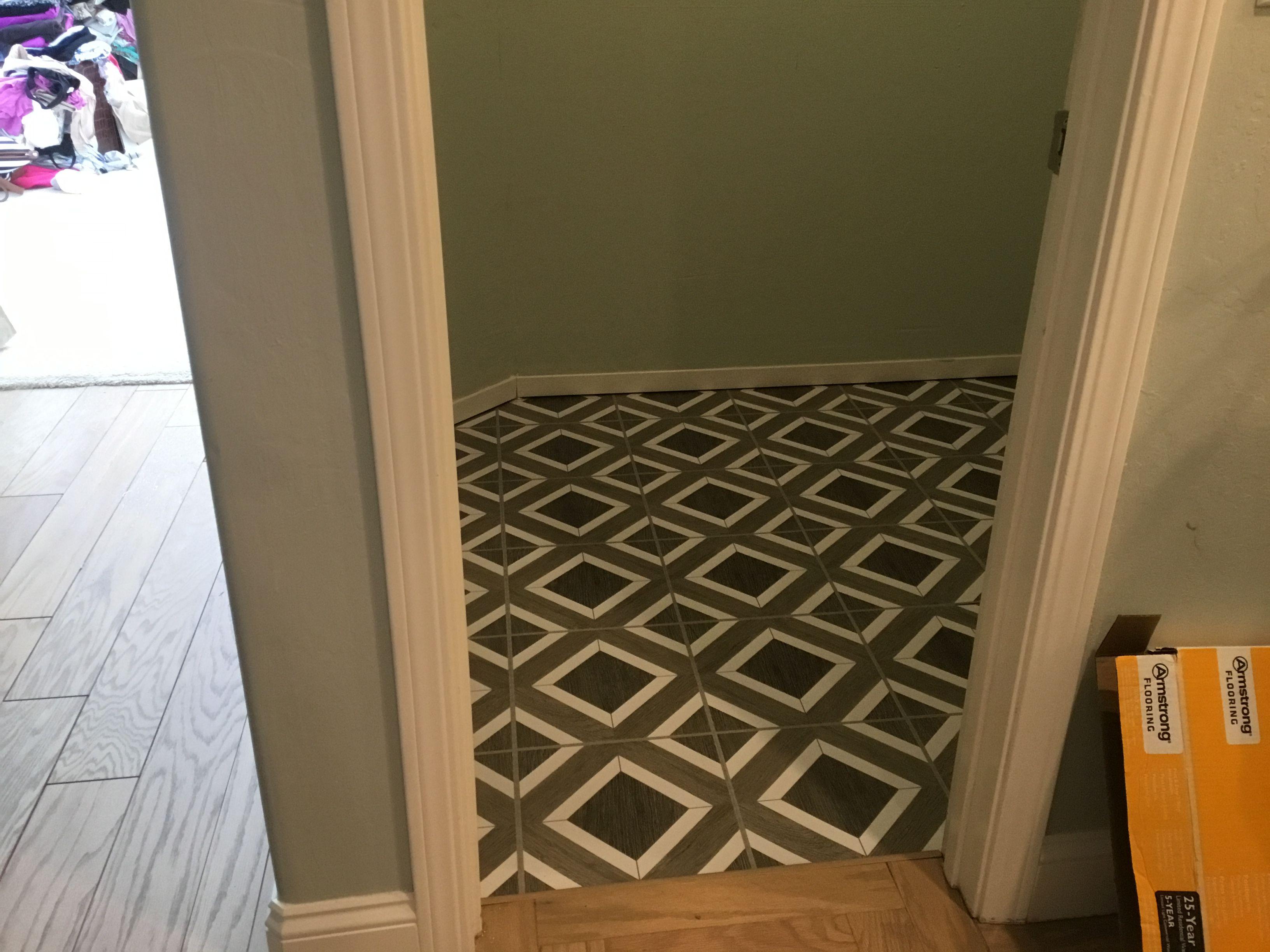 harbor gray peel and stick vinyl tile