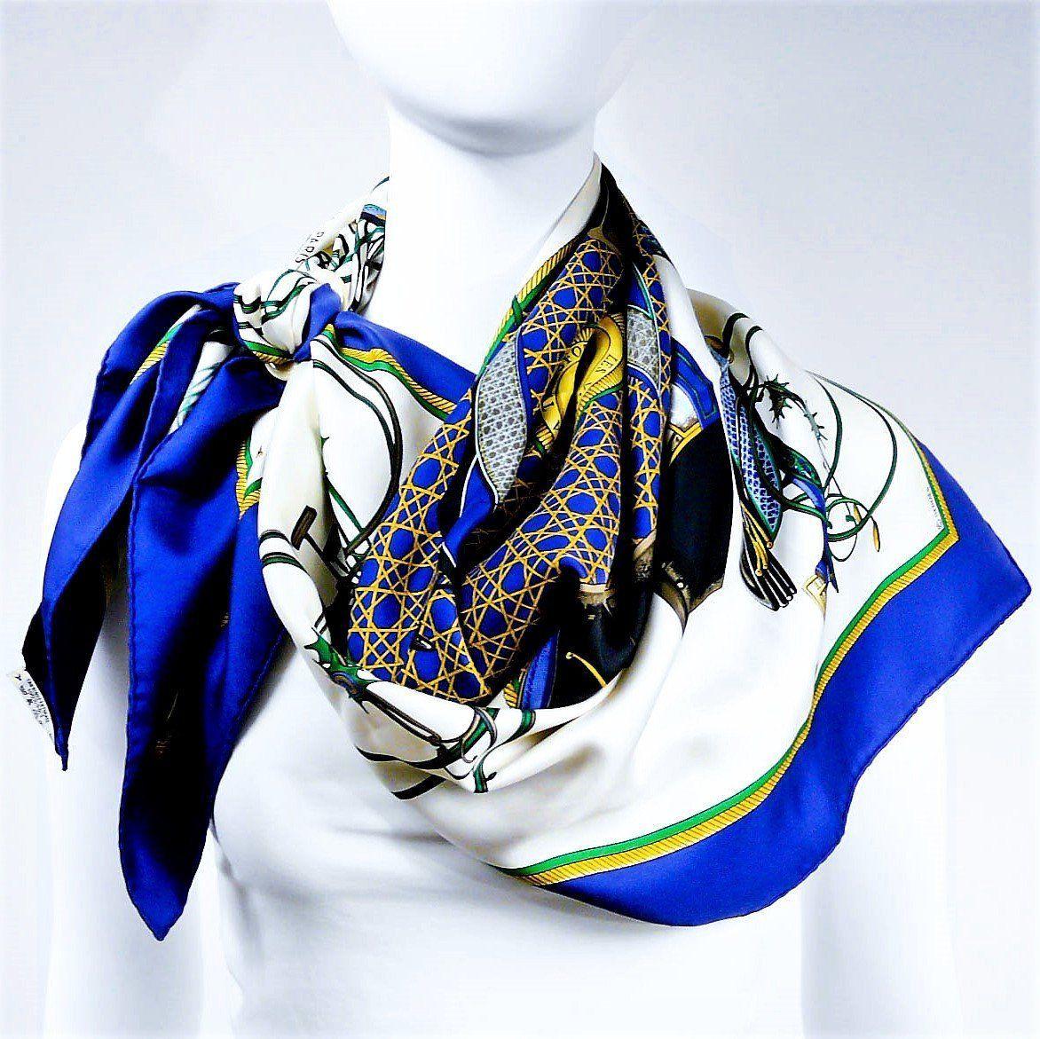 f3c6081c402 Hermes Les Voitures a Transformation Blue White CW
