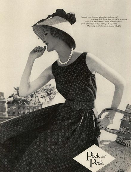 Peck and Peck Ad Campaign Spring/Summer 1959 Shot #4