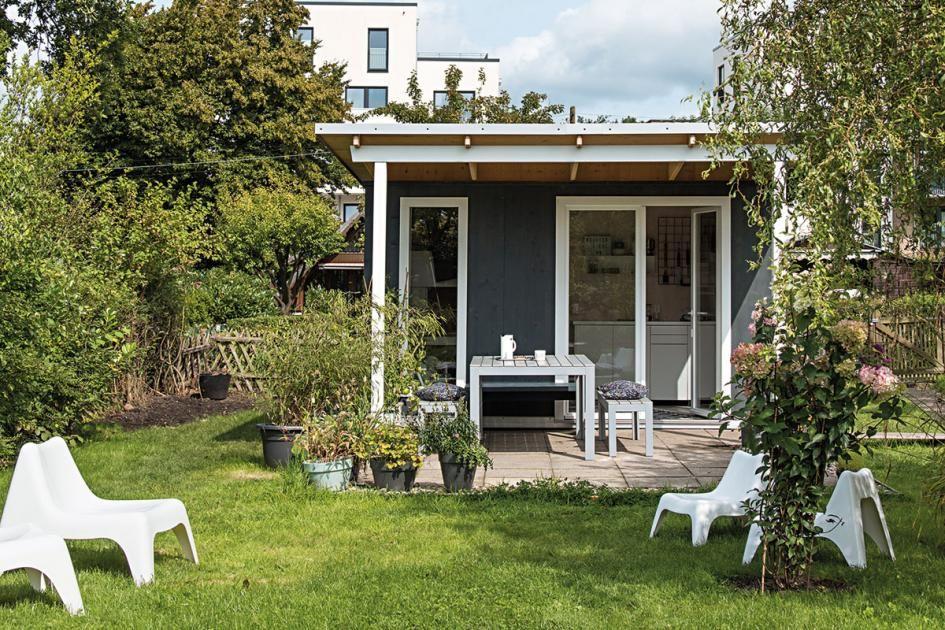 Der Traum Der Eigenen Laube Gartenlaube Garten Uberdachte Terrassen