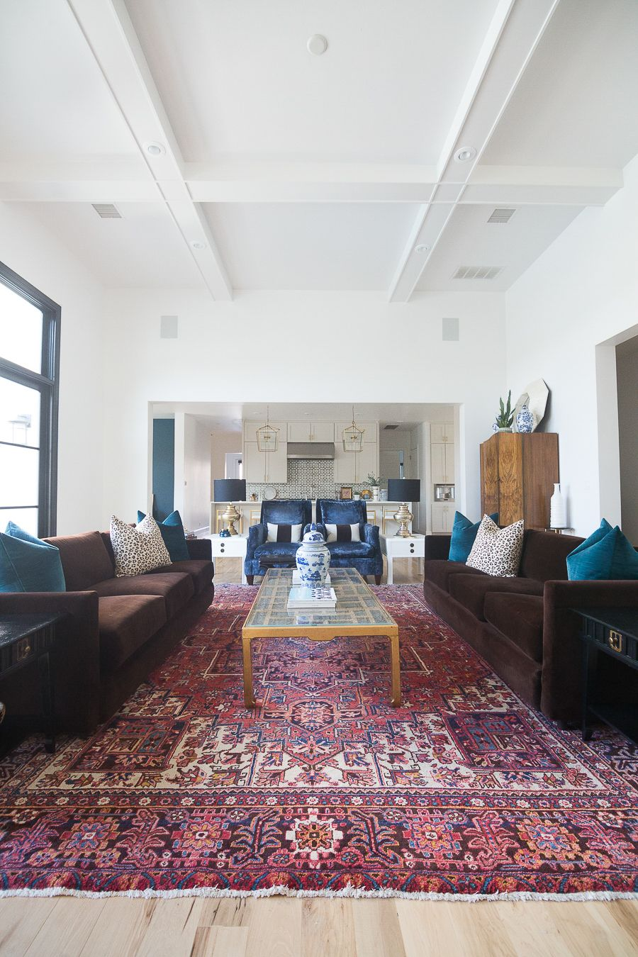 10 Bold Pink And Navy Rugs For Home Decor Modern Glam Living