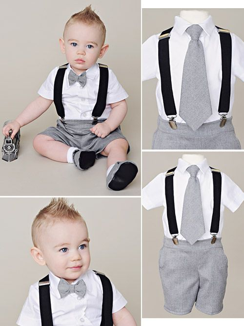 dbff1040f0076 So charming and cashmere soft too! | Ring Bearer Outfits | Boy ...