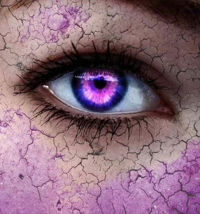 розовые глаза картинка которые приобрели цифры