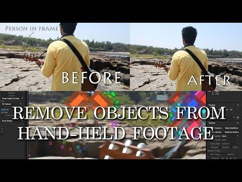 3d Camera Tracker Adobe After Effects Floating Stills One