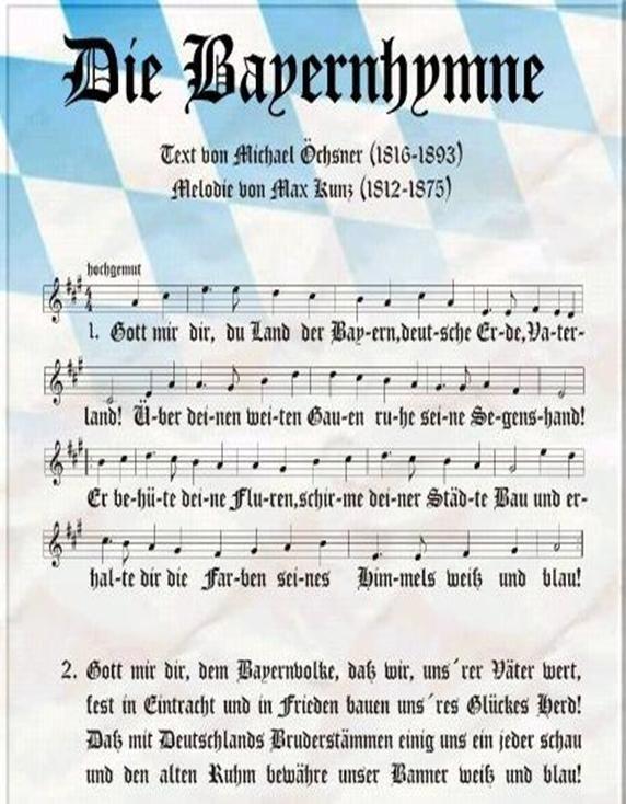 Hymne Bayern