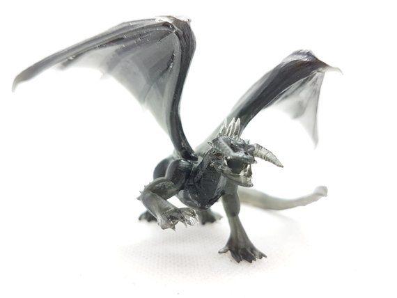 dungeons dragons black dragon resin 3d printed 3d custom printing