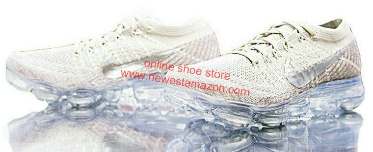 size 40 312ca 886ae Official 2018 Nike Air Vapormax String Chrome Sunset Glow Taupe Grey 849557  202 Sneaker