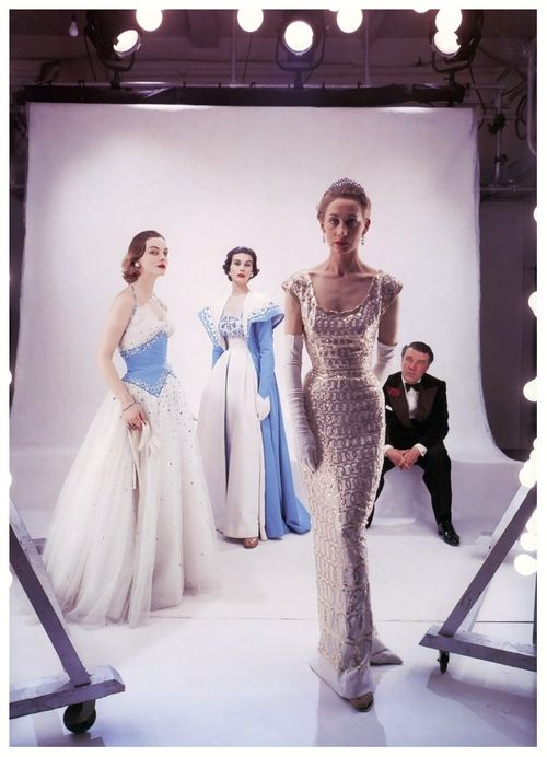 Photo by Norman Parkinson, 1953.