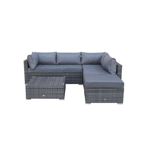 new arrival 9a8da 69159 Saffy 5 Seater Rattan Sofa Set | outdoor sofa | Sofa set ...