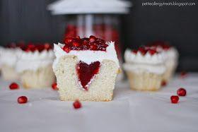 Gluten Free Pomegranate Cupcakes-petiteallergytreats.blogspot.com  #glutenfree, #Pomegrante, #eggless, #dairyfree, #caseinfree, #dessert, #cake