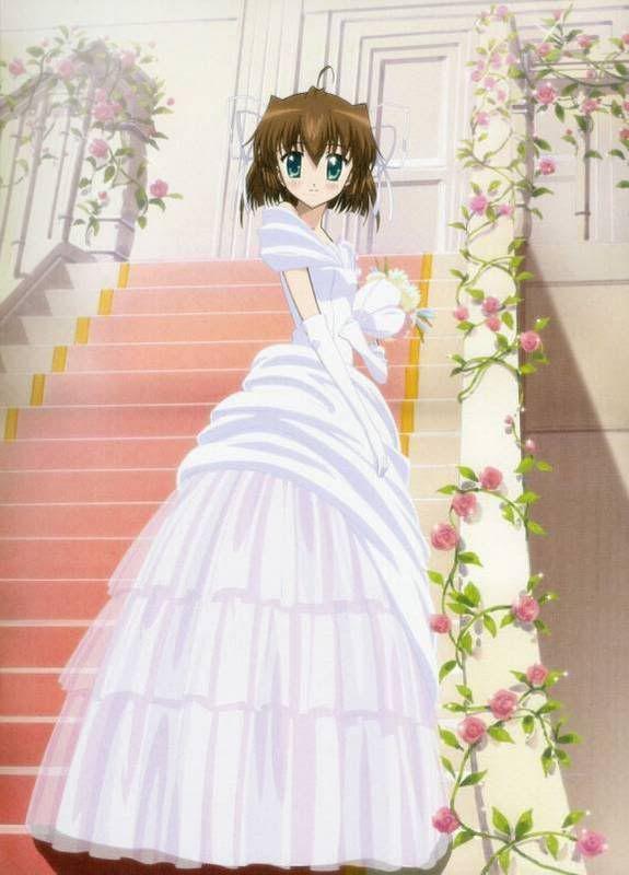 Anime Wedding Dresses Anime Pinterest - Anime Wedding Dress