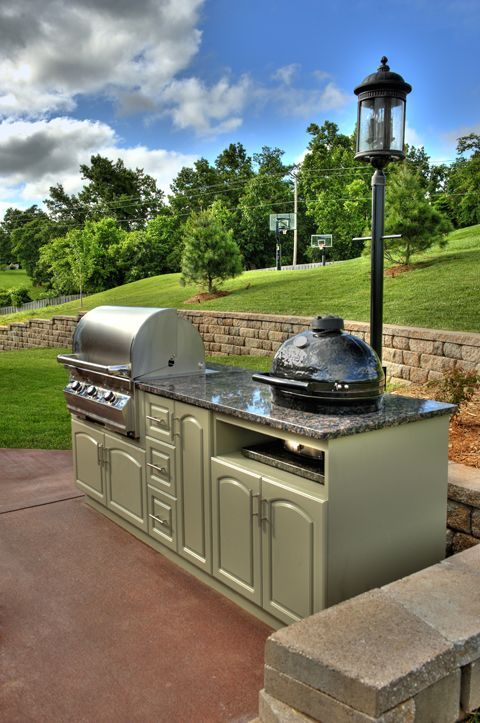 Outdoor Kitchen Made With King Starboard St By Select Outdoor Kitchens Outdoor Living Space Dream Backyard Outdoor Kitchen