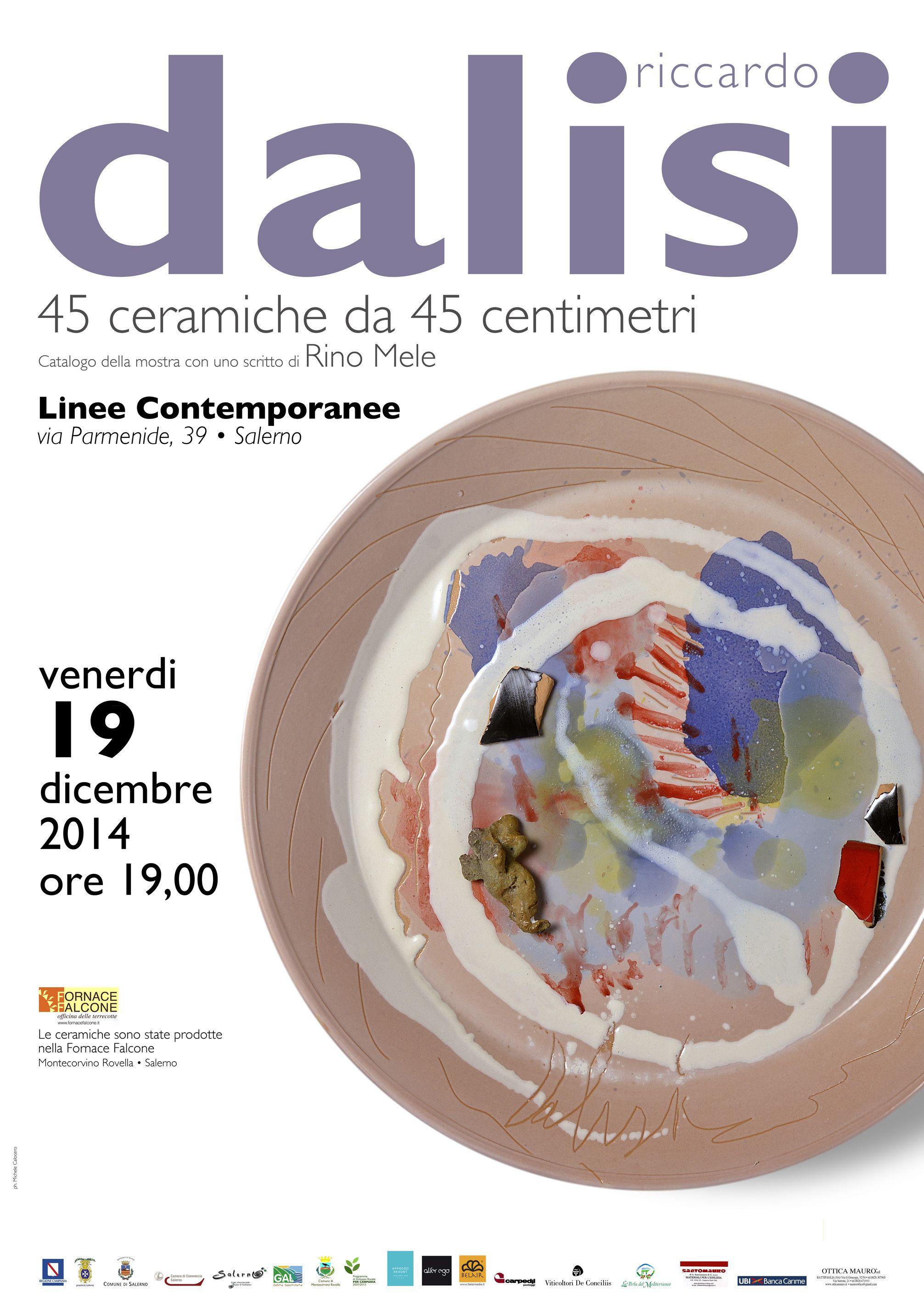 45 Ceramiche da 45 cm di Riccardo Dalisi – Linee Contemporanee ...