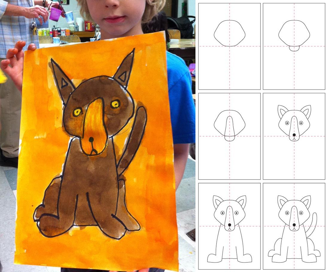 Dog · Art Projects For Kids: How To Draw